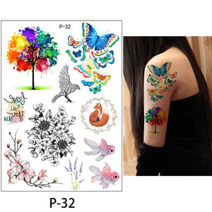 Waterproof Temporary Tattoos