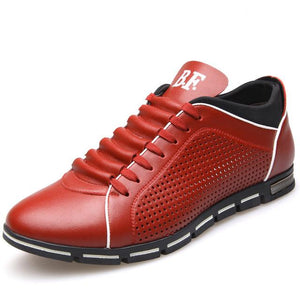 2017 NEW ENGLAND MALE BREATHABLE LEATHER CASUAL SHOES