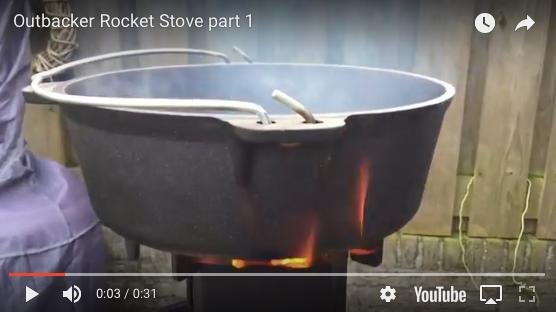 Outbacker Rocket Stove - Customer Review