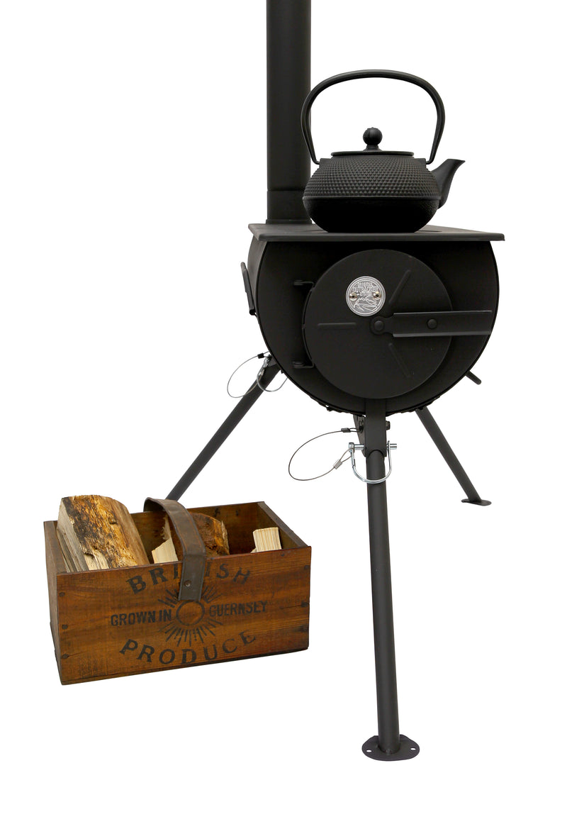 Outbacker ®Portable Stove | Woodburning Shepards Hut Stove