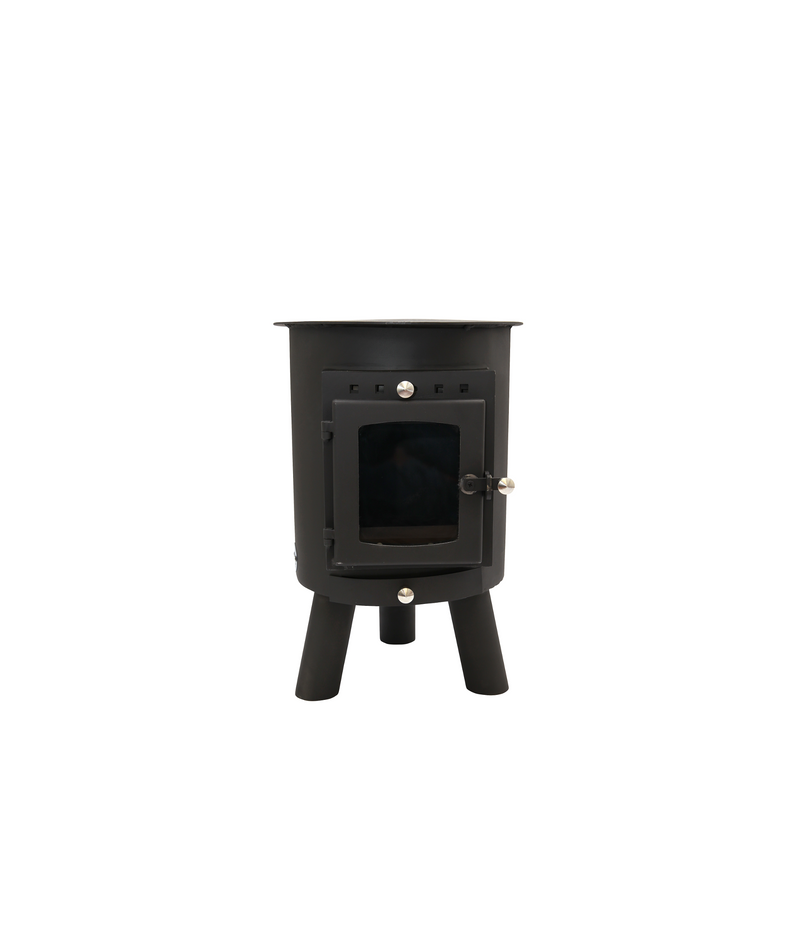Outbacker® Hygge Woodburning Yurt Stove | Full Package