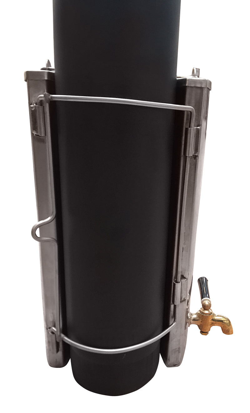 4 inch Water Heater For Outbacker Hygge or Frontier Plus Stoves.