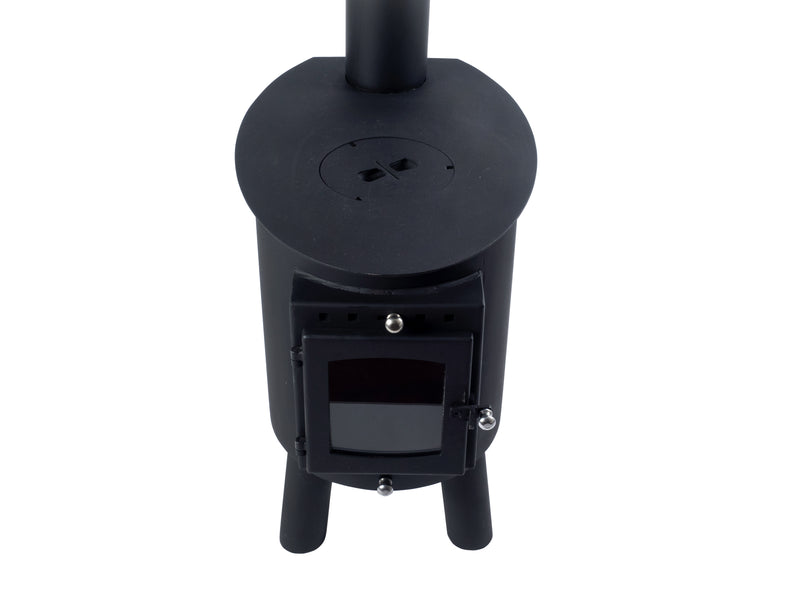 Outbacker® Hygge Woodburning Cabin Stove | Full Package