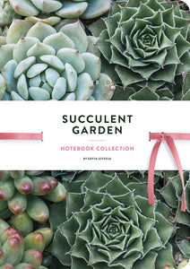 Succulent Garden Journal Notebook Collection