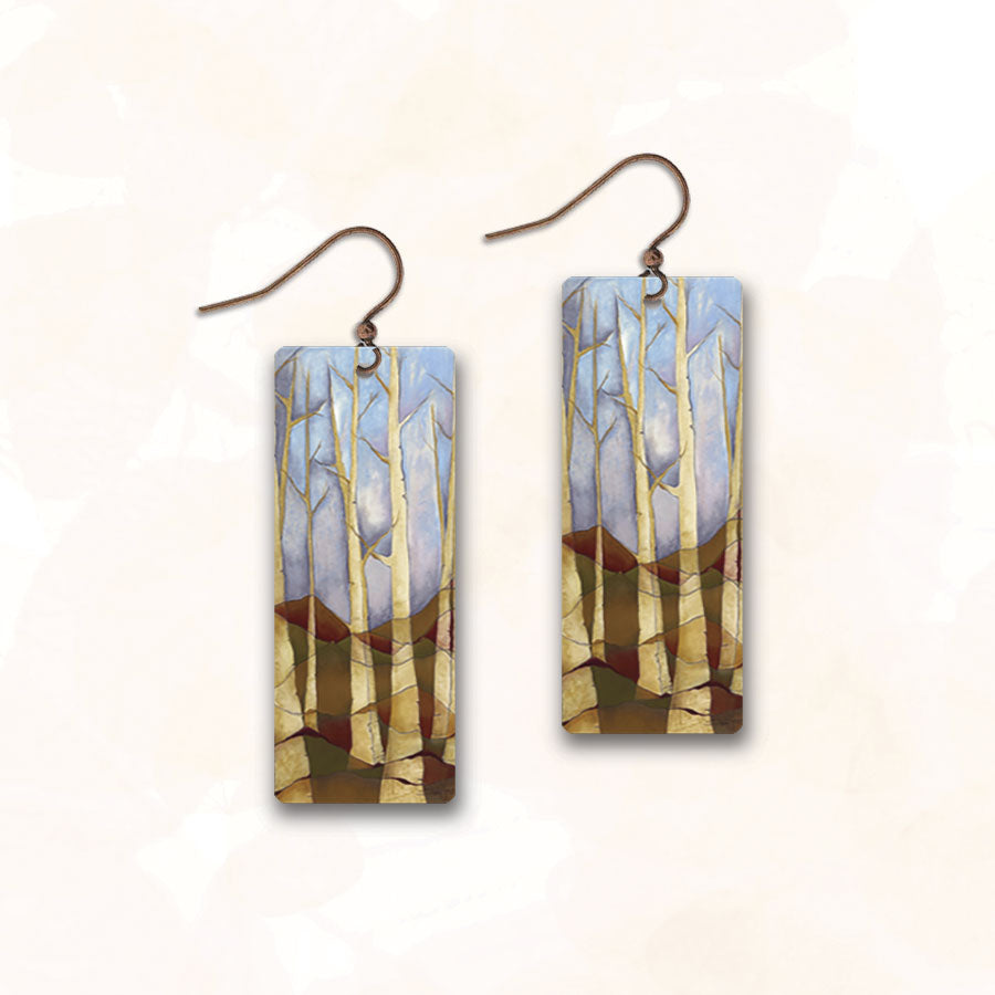 Illustrated Light Earrings Made in USA