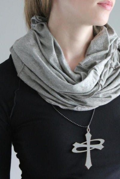 Hourglass... hood,scarf,top,skirt