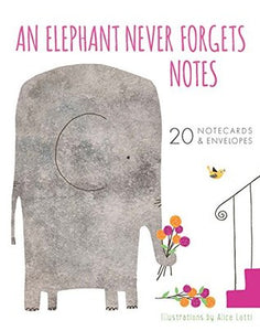 An Elephant Never Forgets Box Notes
