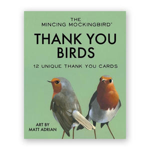 Bird Thank You Box Set of 12