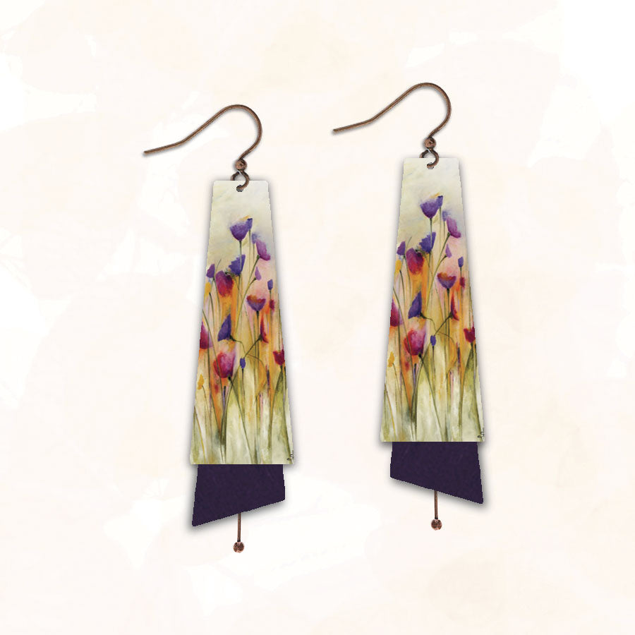Illustrated Light Earring Made in USA
