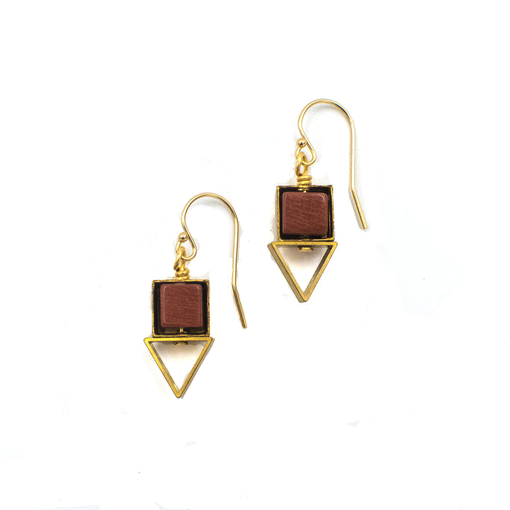 Larissa Earrings made in USA