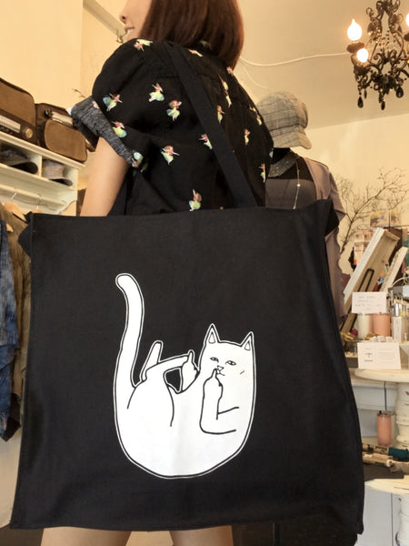 Tote bags with zipper