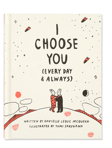 I choose you book
