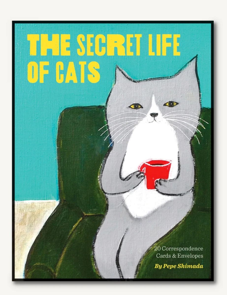 The Secret Life of Cats: Correspondence Cards