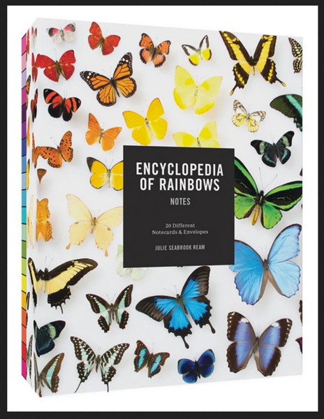 Encyclopedia of Rainbows: Box Notes