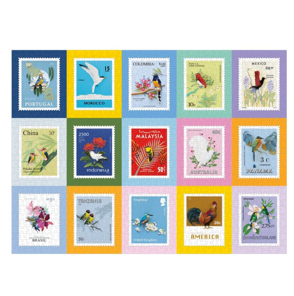 Birds of the World 1000 Piece Jigsaw Puzzle