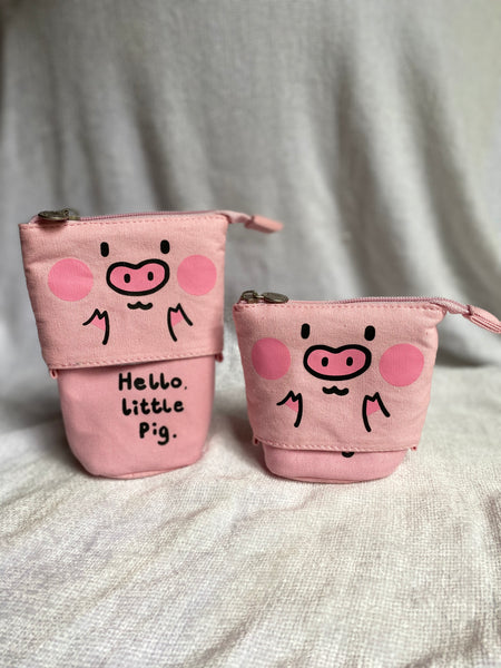 Pigs Stationary Pencil Case