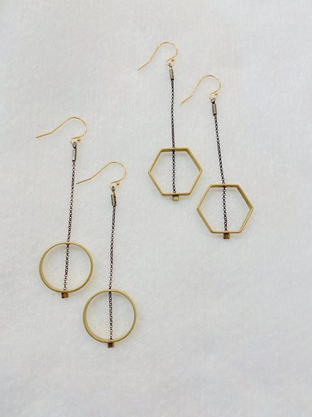 Horizon Earrings made in USA
