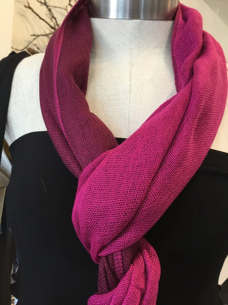 Handmade Cotton two tones scarves
