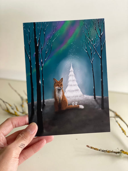 All is Calm, All is Bright: Greeting Card Made In PDX
