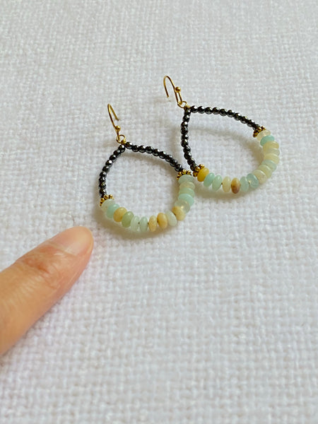 Hand-wired Hoop Earrings