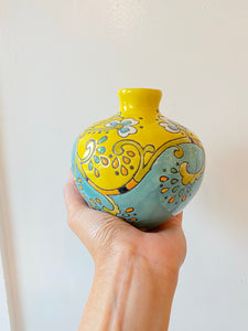 Cute Hand Painted Vase
