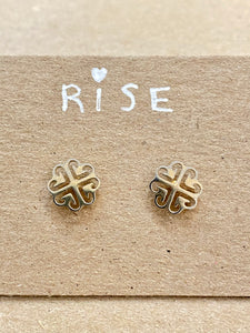 Mini Celtic Stud Earrings