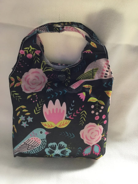 Foldable Recycle Shopping Bag in a Cute Mini Tote