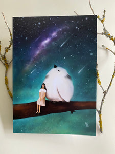 That Night Under The MilkyWay Greeting Card