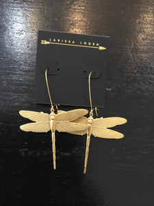 Larissa dragonfly Earrings made in USA