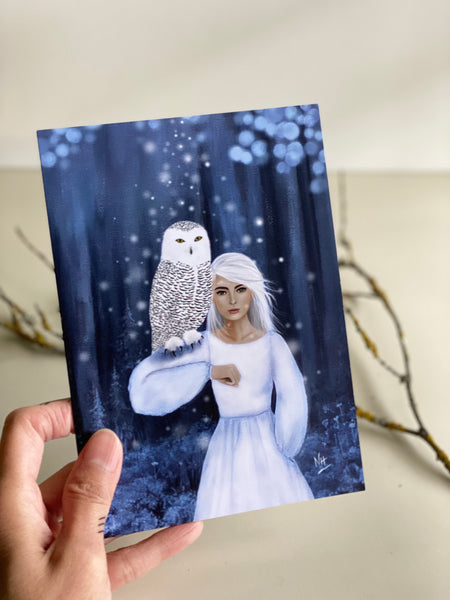 Magic Maker Owl Greeting Card