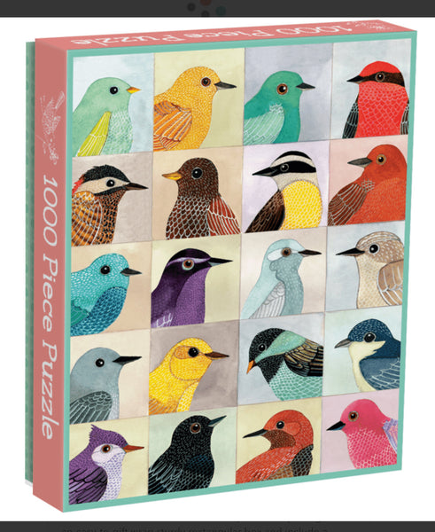 Avian Friends Birds 1000 Piece Puzzle