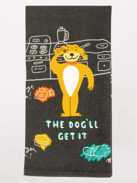 Funny Screen Printed Dish Towel
