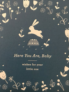 Here you are baby...book