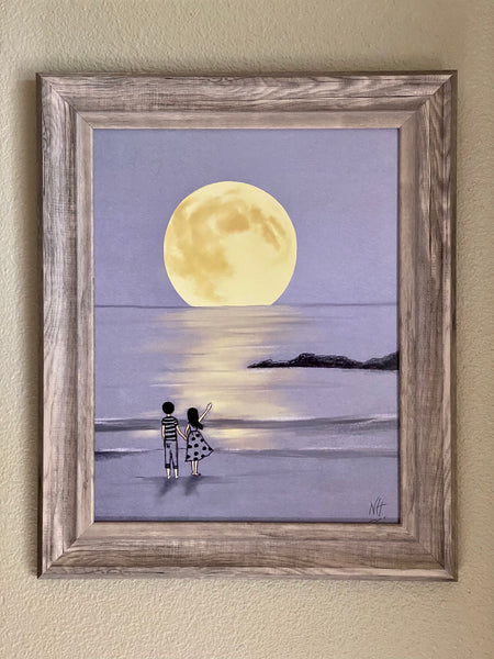 Fly Me Too The Moon Art Print By Nina Hand