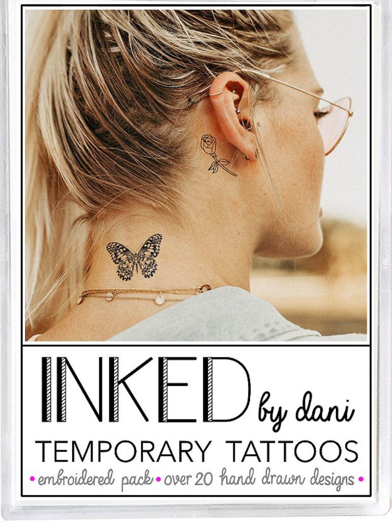INKED by Dani Embroiled Tats Pack