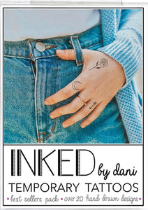 INKED by Dani Best Sellers Tats Pack