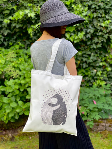 Bears Hug Handmade Tote Bag