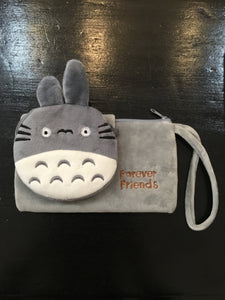 Cute Totoro Clutch Wallet w/Coin Purse