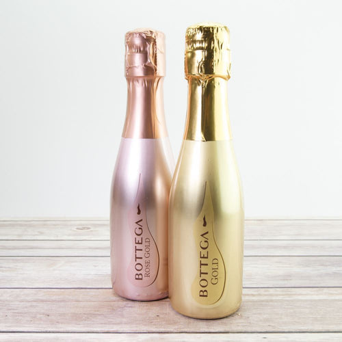 A  Mini Bottle of Bottega Gold or Rose Gold Prosecco