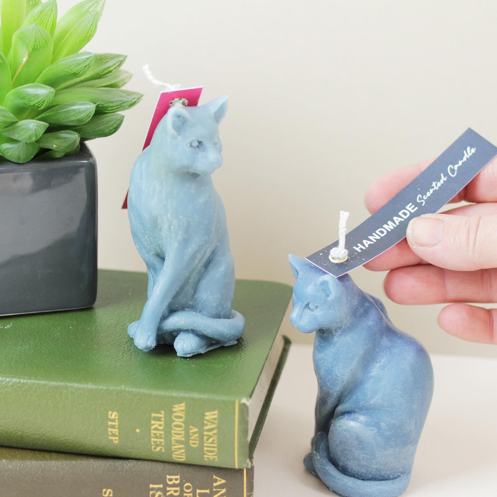 Cat shaped Scented Candle in Four Colours