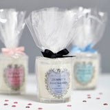 Baby Shower Personalised Candles