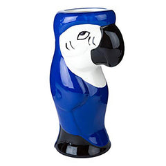Parrot Tiki Jar in choice of 2 Colours.