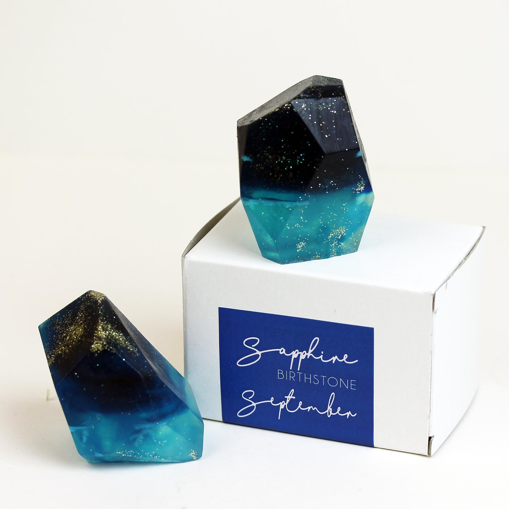 Handcrafted Birthstone Soap in 12 Colours.(W)