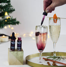 Christmas Flavour Sparkle Drops for Gin and Prosecco