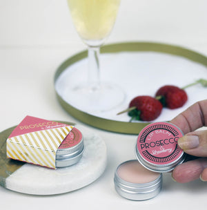 Prosecco & Strawberry  Lip Balm