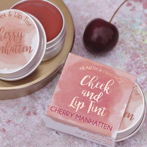 Cherry Manhatten Lip & Cheek Tint Lip Balm