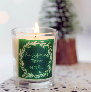 Christmas Scented Votive Candles in Frankincense, Mulled Wine or Christmas Tree Scents.
