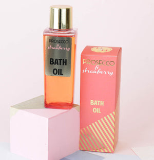 Prosecco & Strawberry Bath Oil (w)