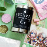 Emergency Festival Survival Kit in a Can.