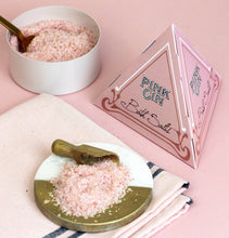 Pink Gin Bath Salts in Pyramid Gift Box